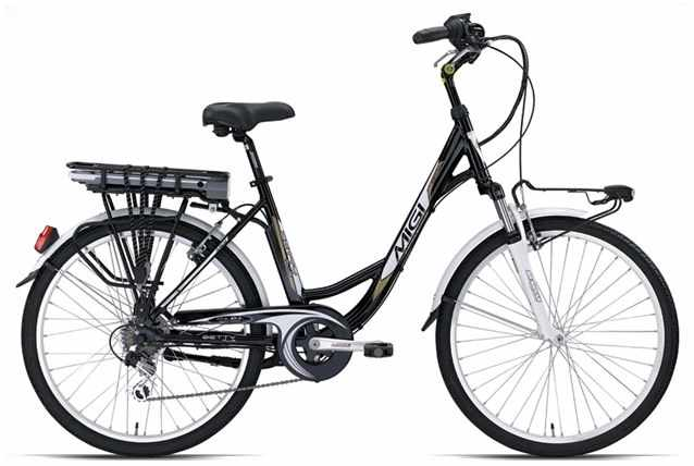 Bici elettrica Betty Plus 24 1