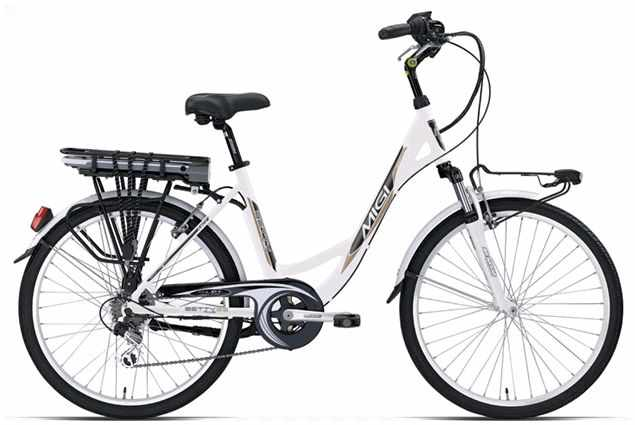 Bici elettrica Betty Plus 26 1