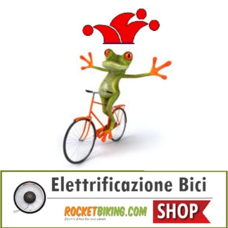 Rocketbiking – Jolly Elettrificazione Biciclette 200pc
